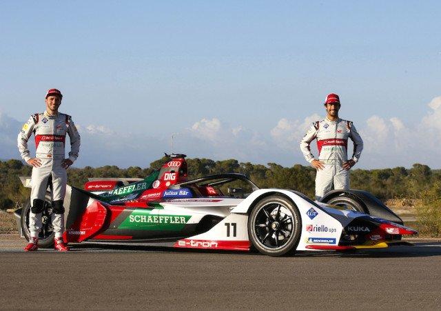 Audi Formula E Aracı FE05