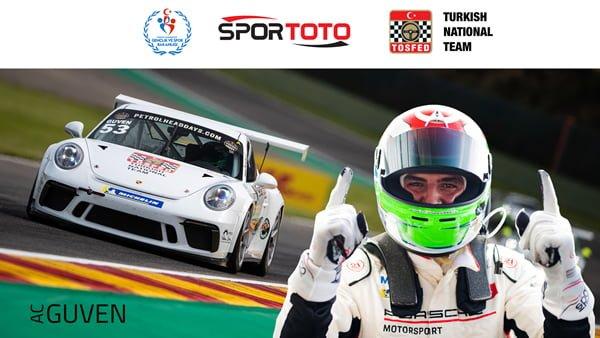 Porsche GT3 Cup Benelux Şampiyonu Ayhancan Güven
