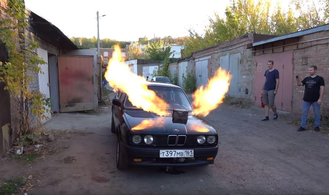 BMW E30 Jet Türbini