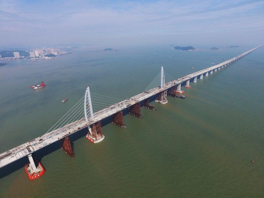 Hong Kong-Zhuhai-Macao Köprüsü