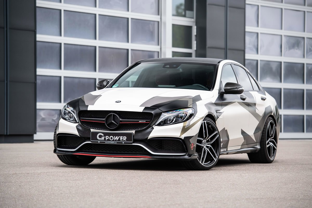 G-POWER 2018 Mercedes-AMG C 63 Modifiye