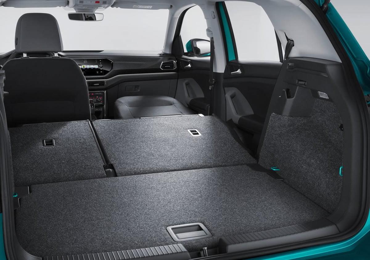 Yeni Volkswagen T-Cross Bagajı