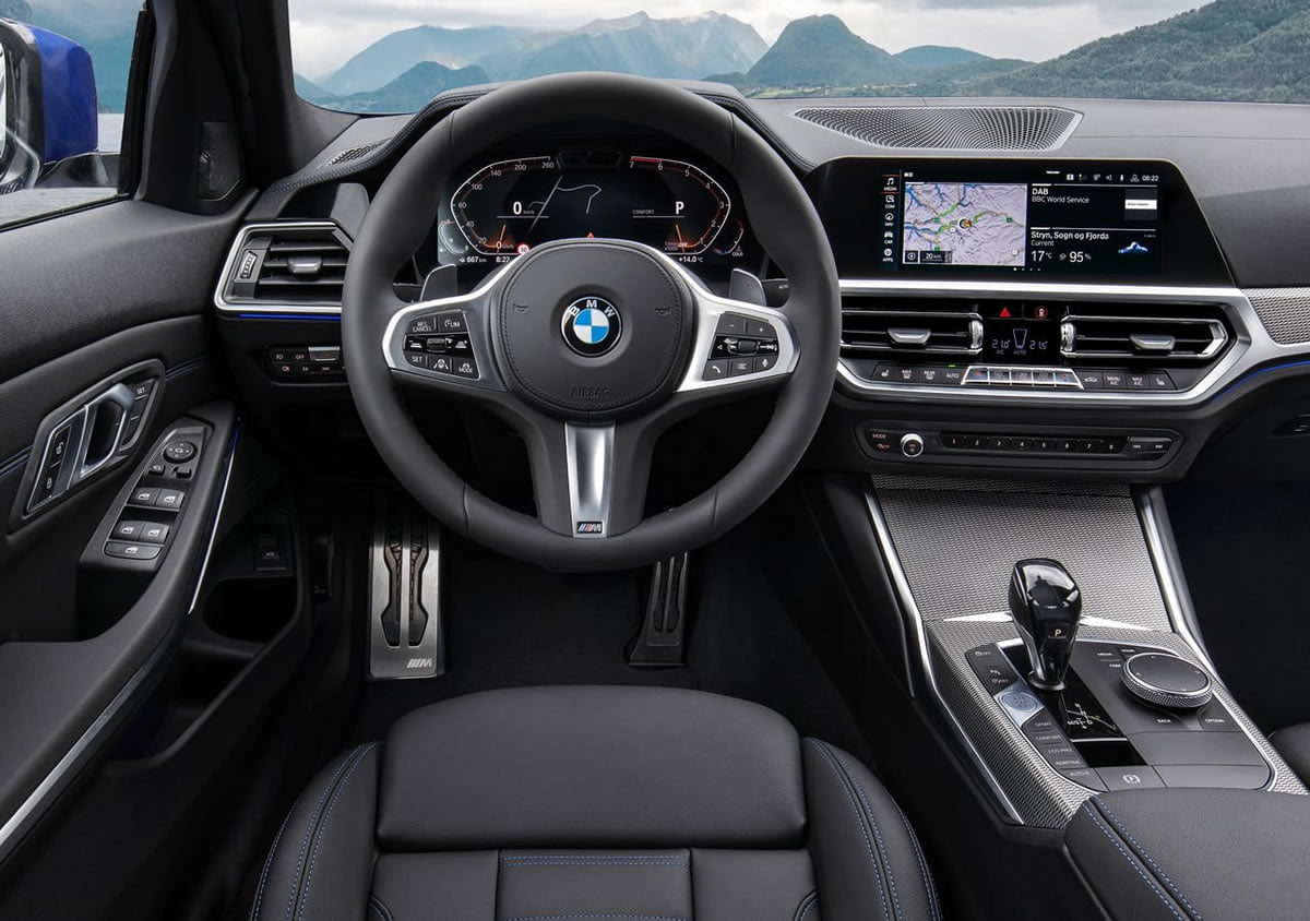 Yeni Kasa BMW 3 Serisi Kokpiti