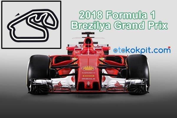 2018 Formula 1 Brezilya Grand Prix Saat Kaçta