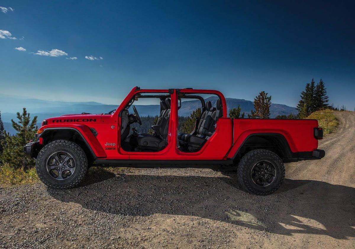 2020 Yeni Jeep Gladiator Türkiye