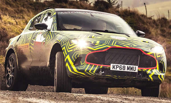 Yeni Aston Martin DBX