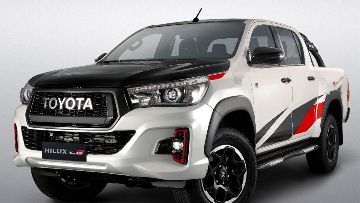 Gazoo Racing Yeni Toyota Hilux GR Sport