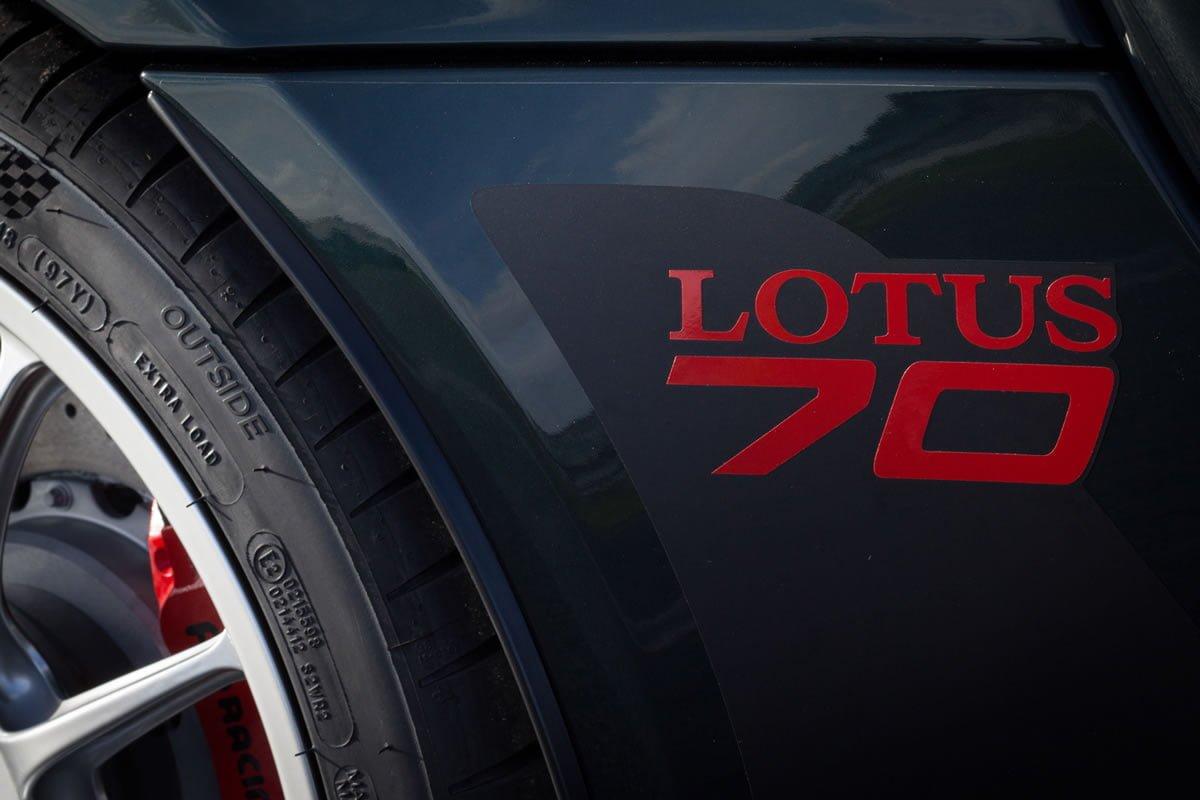 Lotus 70. Yaşında