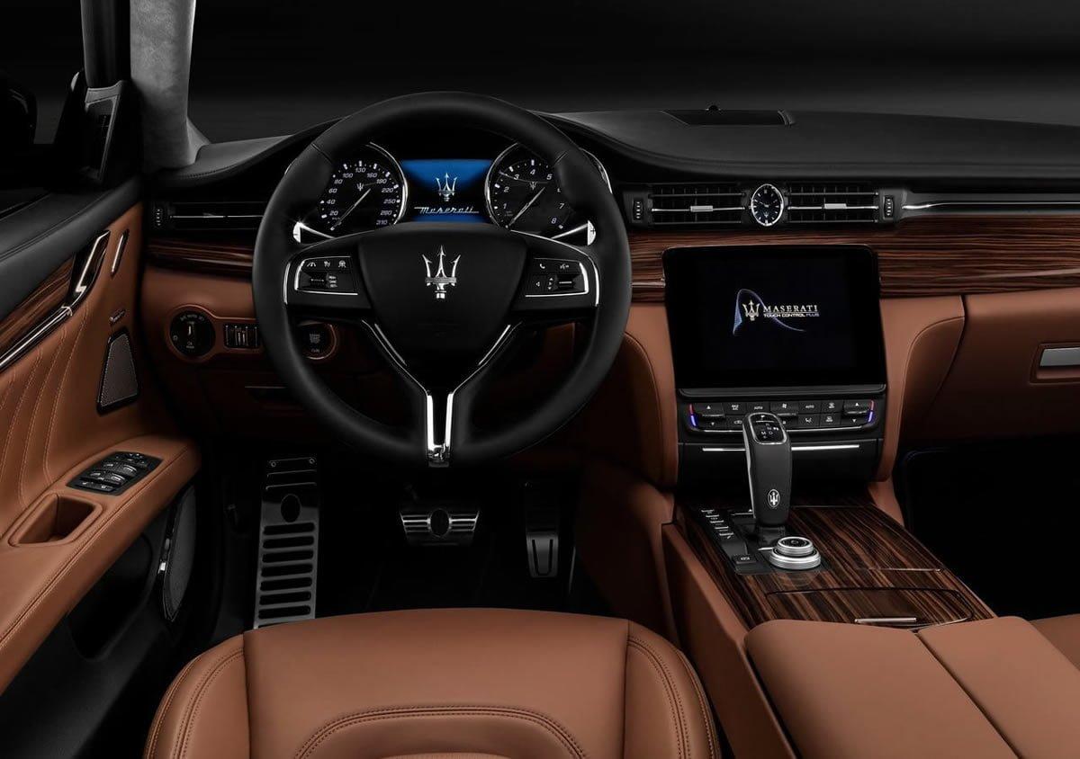 Makyajlı 2019 Maserati Quattroporte Kokpiti