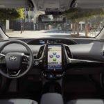 Makyajlı 2019 Yeni Toyota Prius Kokpiti
