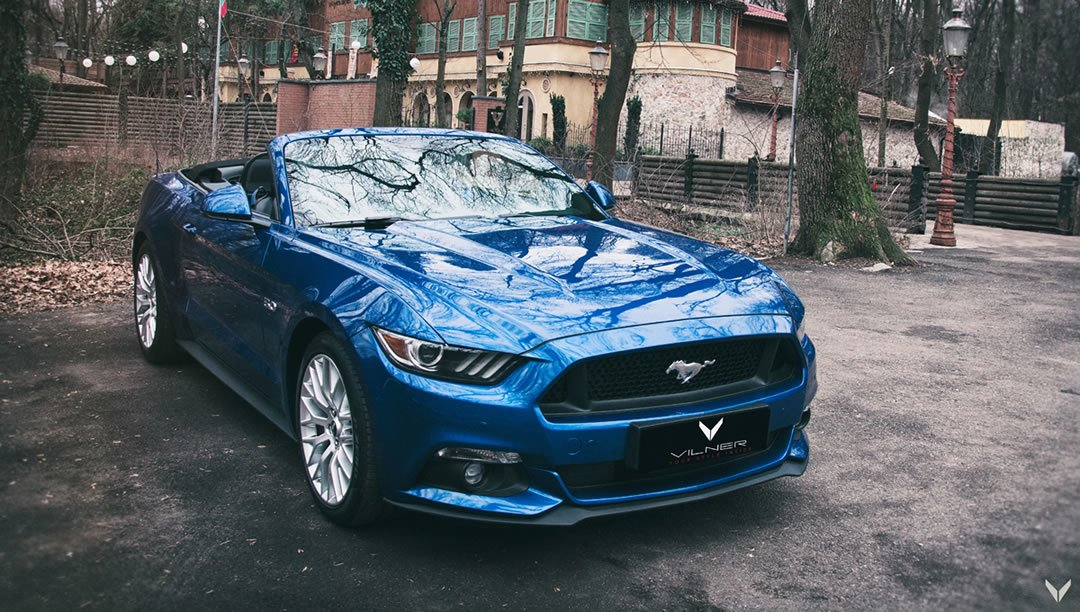 Vilner Tuning Ford Mustang GT Convertible Combo