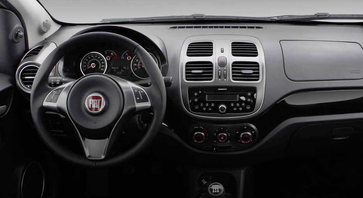 Yeni Fiat Grand Siena Kokpiti