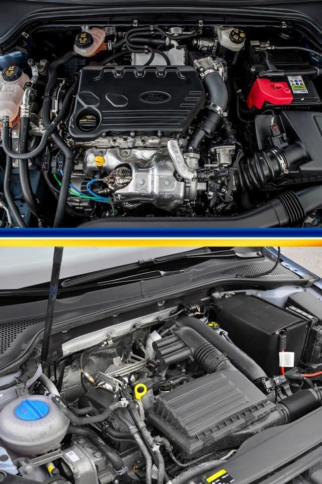 Yeni Kasa Ford Focus (MK4) - VW Golf 7.5 Yakıt Tüketimi Karşılaştırması