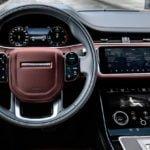 2020 Yeni Kasa Range Rover Evoque Kokpiti
