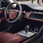 2020 Yeni Kasa Range Rover Evoque İçi