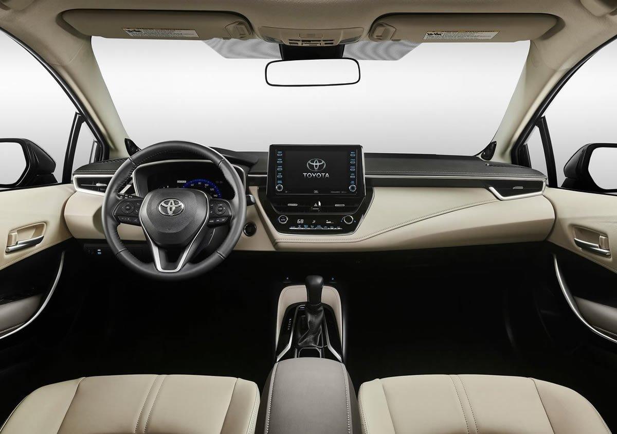 2020 Yeni Toyota Corolla Sedan Mk12 İçi