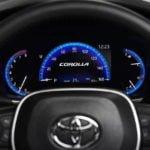 2020 Yeni Kasa Toyota Corolla Sedan Gösterge Paneli
