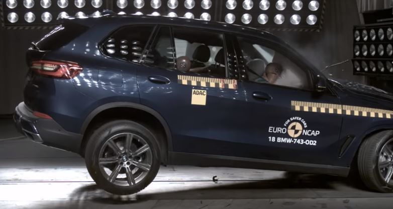 2018 BMW X5, Euro NCAP