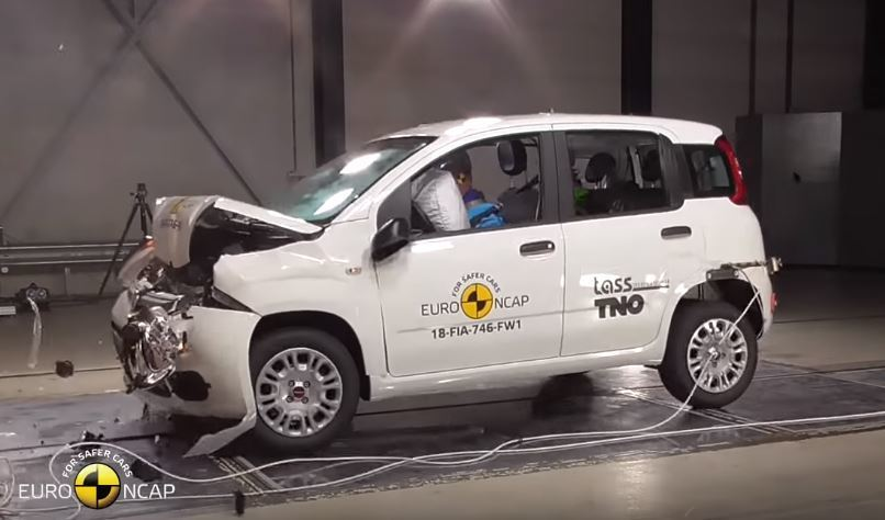 2018 Fiat Panda Euro NCAP