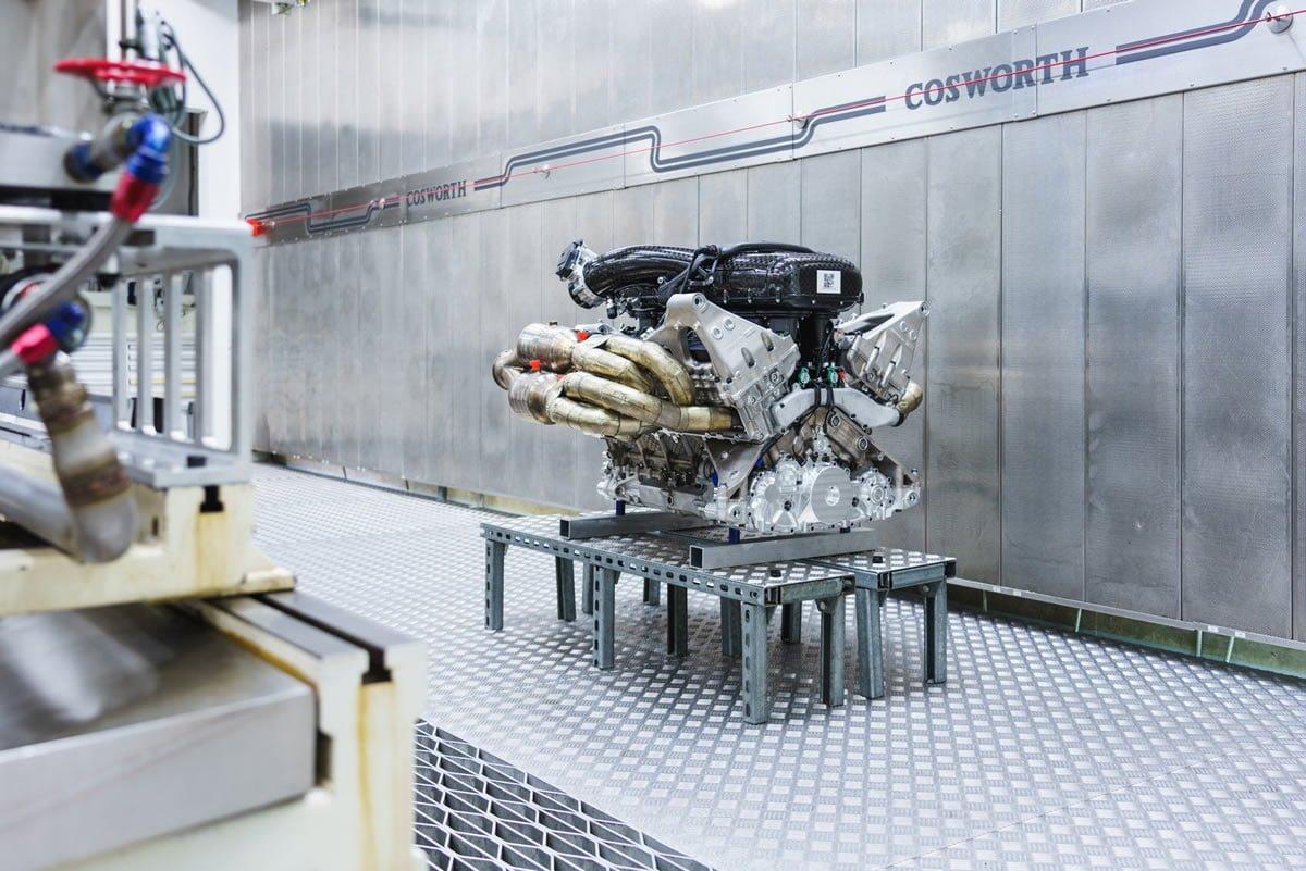 Aston Martin Valkyrie V12 Motoru