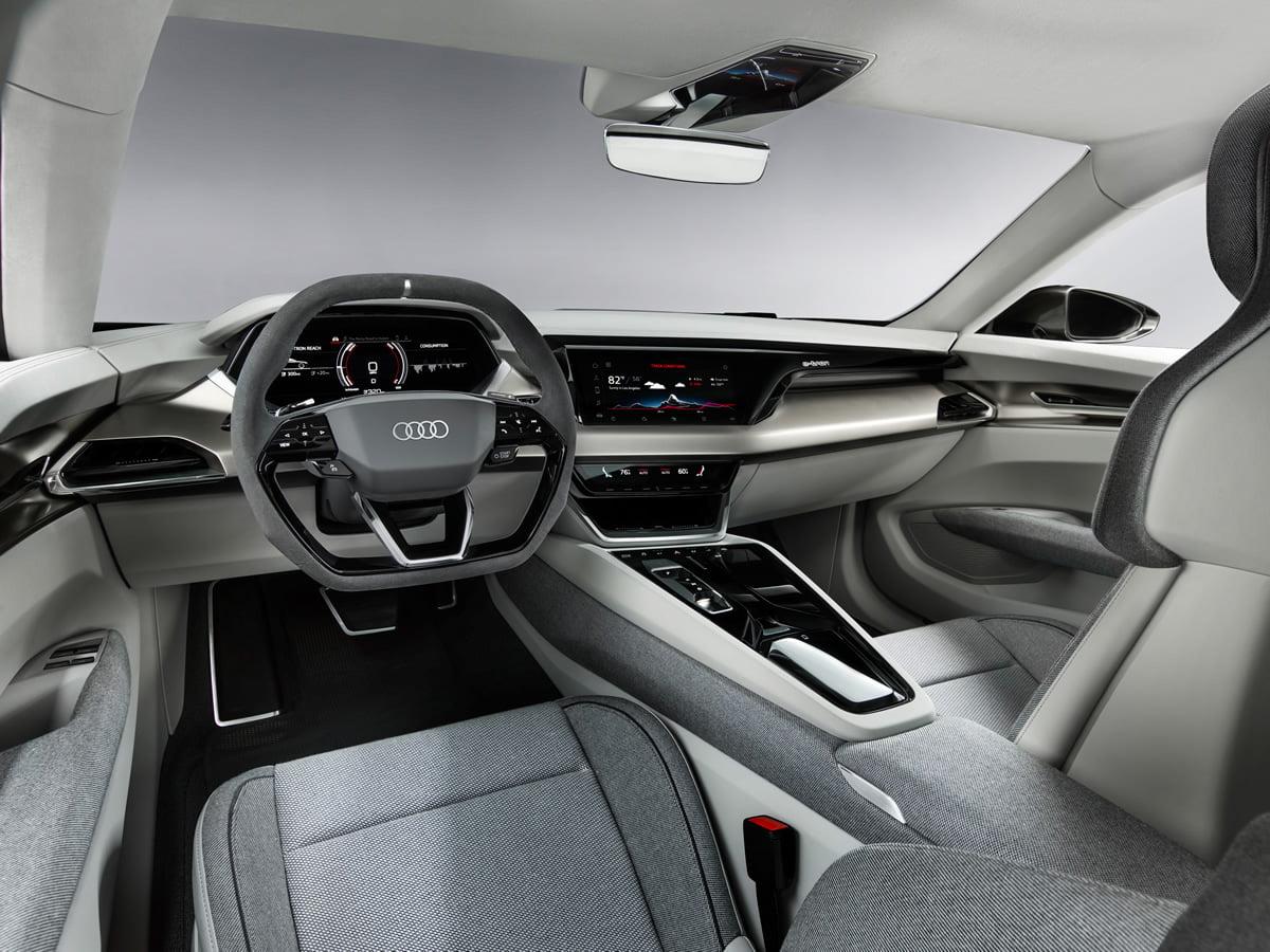 Audi e-tron GT concept Kokpiti