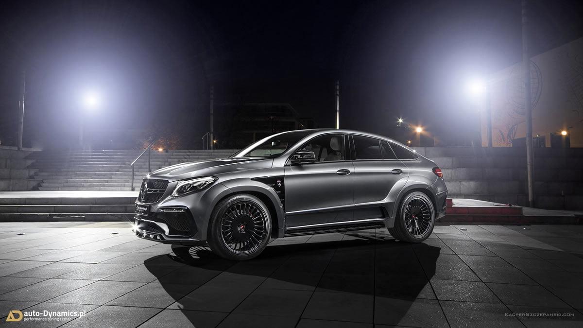 Mercedes-AMG GLE 63 S Coupe Modifiye