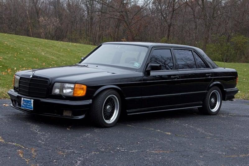 Brabus 1985 Model Mercedes 1000 SEL