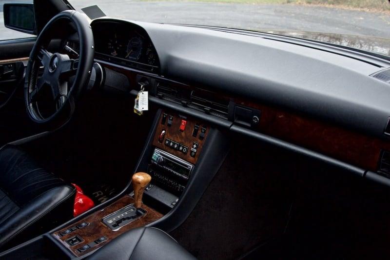 Mercedes 1000 SEL Kokpiti