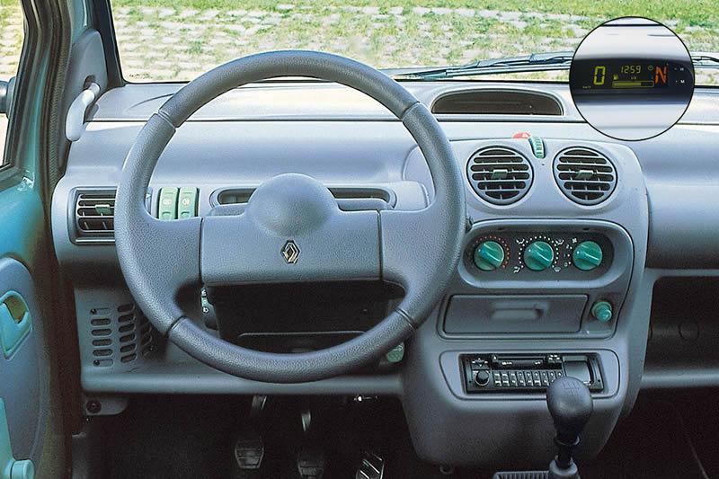 Renault Twingo Kokpiti