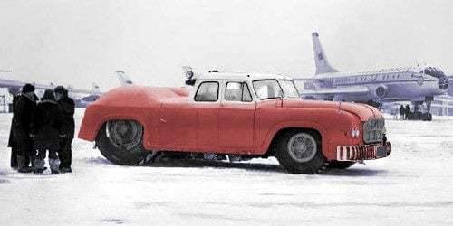 MAZ-541 Boyutu