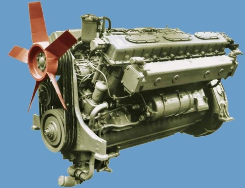 MAZ-541 Motoru