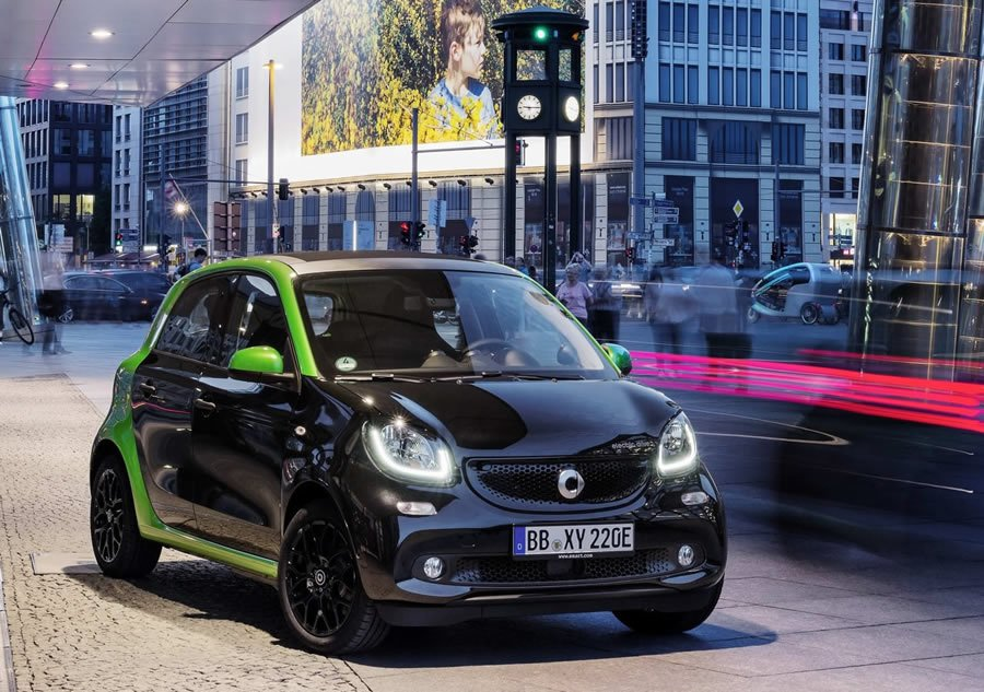Smart EQ Forfour Electric
