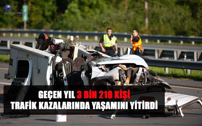 2018 Yılı Trafik Kazası Bilançosu