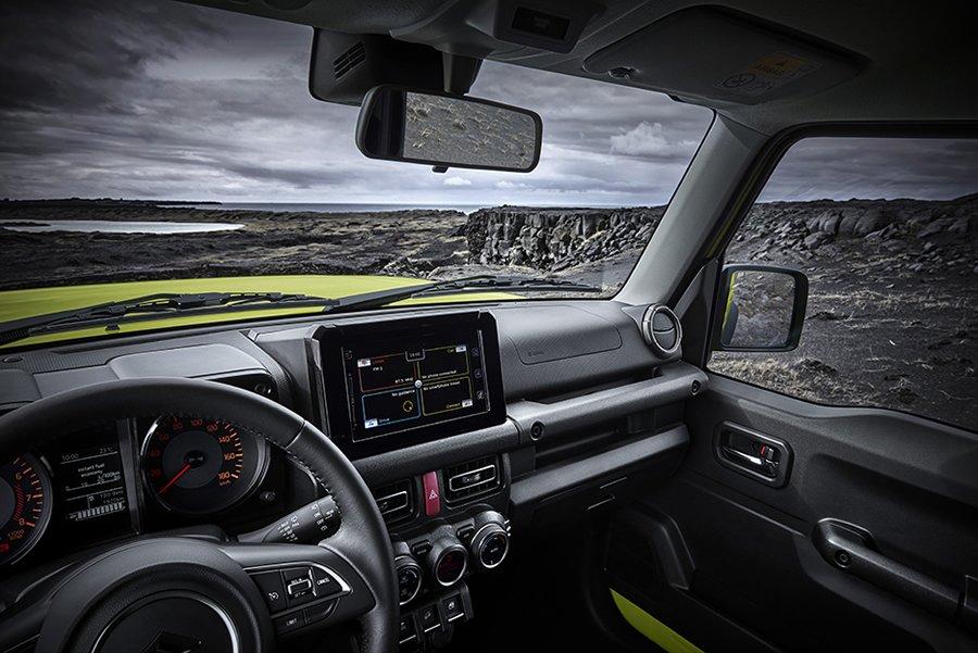 2019 Yeni Suzuki Jimny Kokpiti