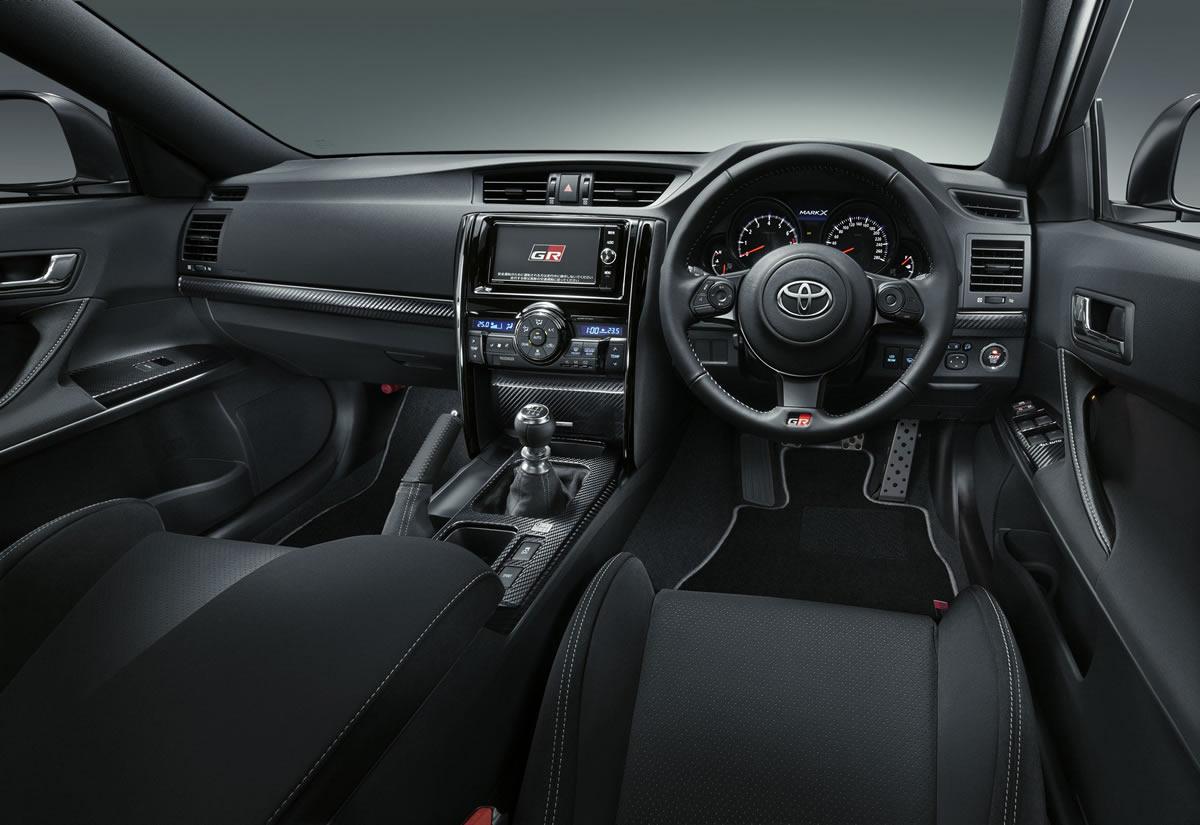 2019 Yeni Toyota Mark X GRMN Kokpiti