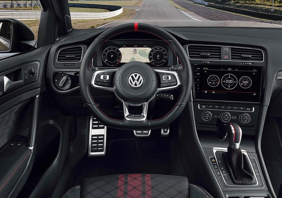 2019 Yeni Volkswagen Golf GTI TCR Kokpiti
