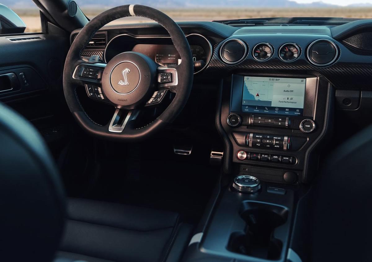 2020 Ford Mustang Shelby GT500 Kokpiti