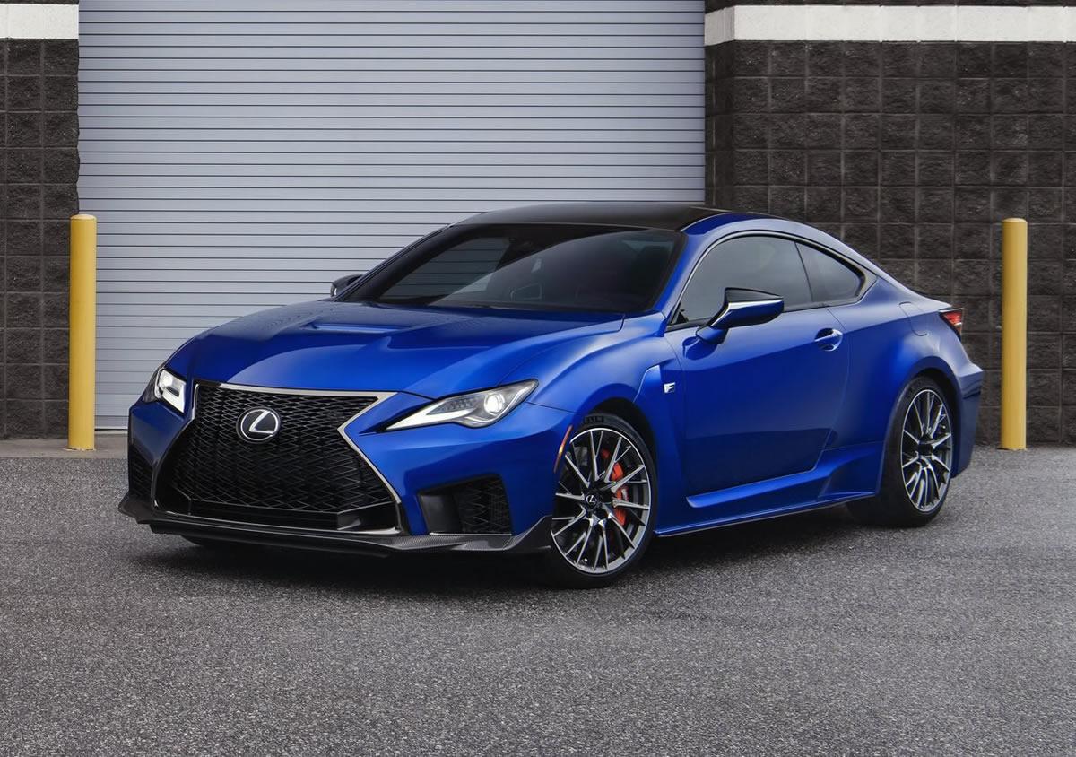2020 Yeni Lexus RC F Özellikleri