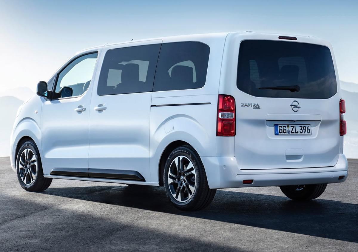 2020 Yeni Opel Zafira Life