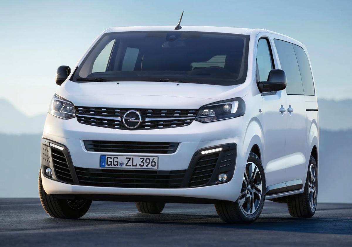 Yeni Opel Zafira Life