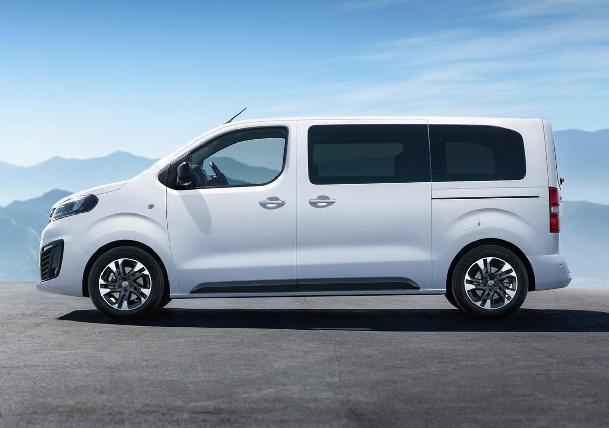 2020 Yeni Opel Zafira Life Donanımları