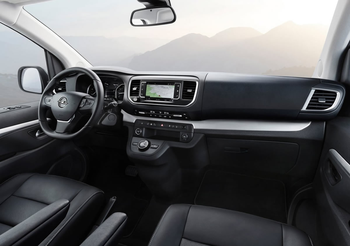 2020 Yeni Opel Zafira Life Kokpiti