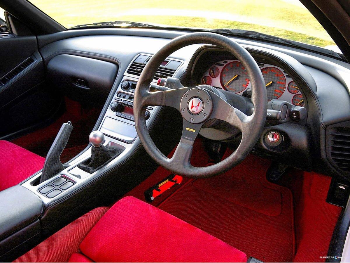 Honda NSX Type-R İçi