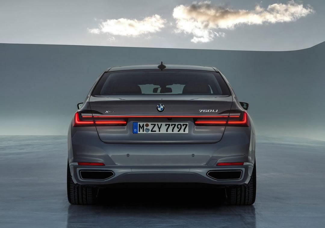 Makyajlı 2020 BMW 7 Serisi Fotoğrafları