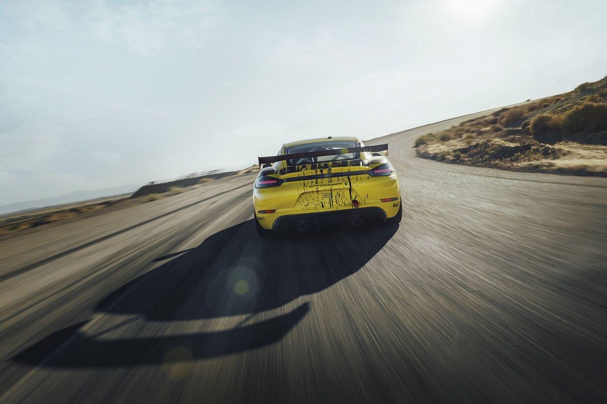 2019 Yeni Porsche 718 Cayman GT4 Clubsport