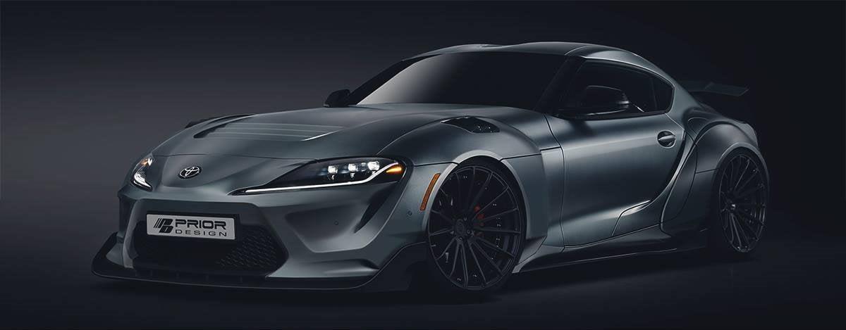 Prior Design 2020 Toyota Supra Modifiye