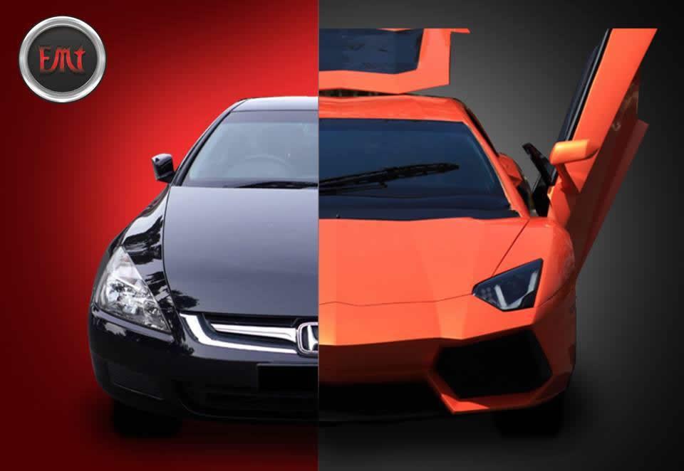 Lamborghini Aventador Honda Accord