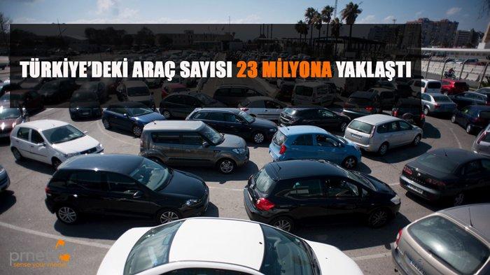 Türkiye de Araç Sayısı Ne Kadar?