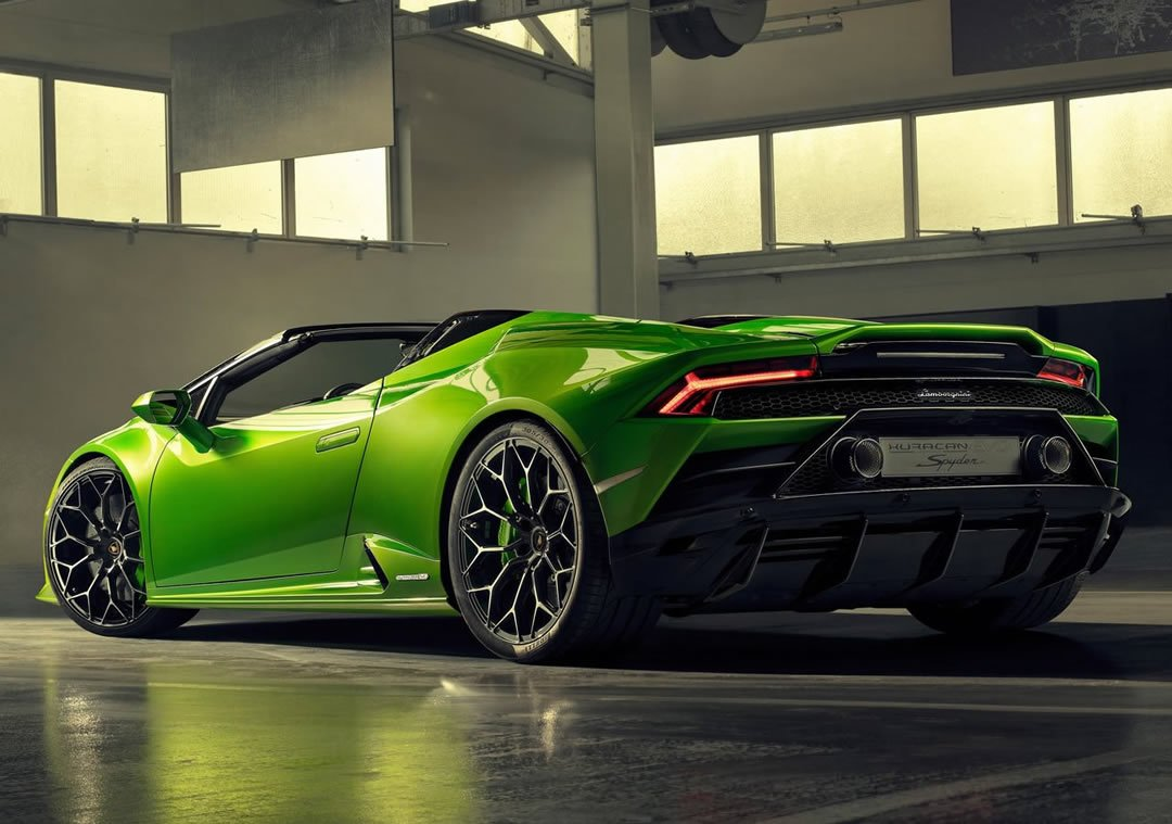 2019 Lamborghini Huracan Evo Spyder Özellikleri