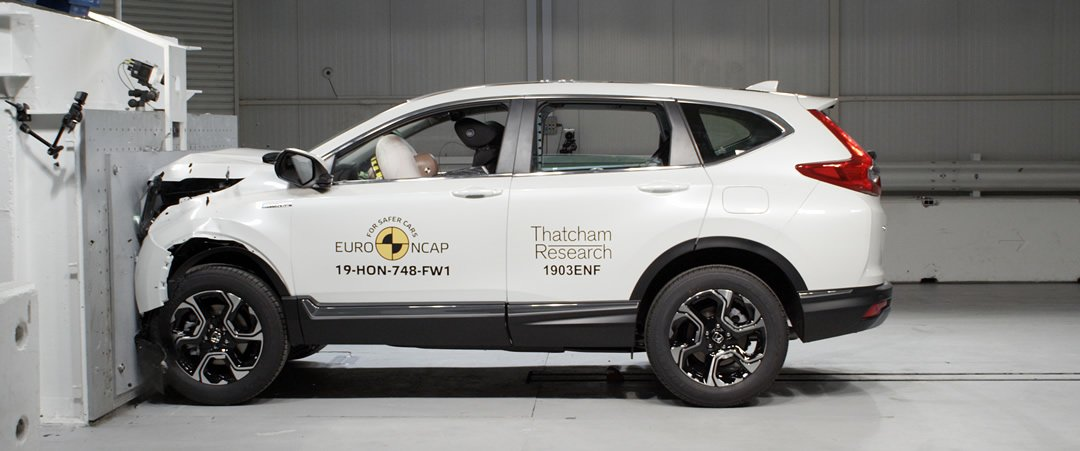 2019 Yeni Honda CR-V Euro NCAP